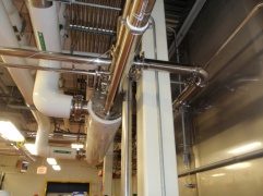 Freezer CIP Heat Exchanger and SS Sanitary Piping