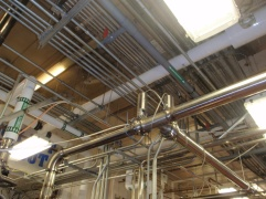 Freezer CIP Piping Modifications to Heat Exchanger
